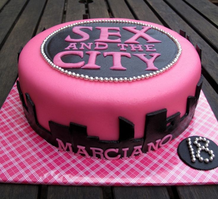 sex and the city #cake
