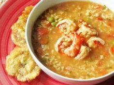 Shrimp Asopao / Asopao de Camarones Dominican Recipe - Looks delicious!