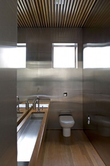 urban vertical house | bathroom ~ isay weinfeld