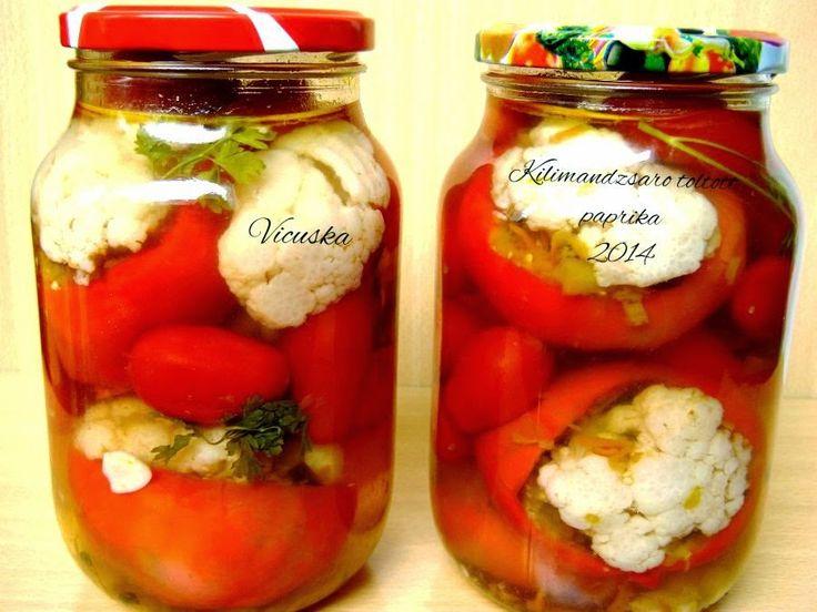 Legjobb receptjeim- avagy az étkezés összetartja a családot: KILIMANDZSÁRÓ PADLIZSÁNOS TÖLTÖTT PAPRIKA TÉLÉRE