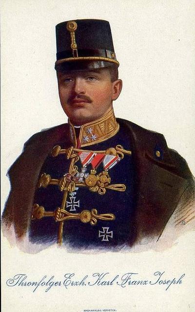 Kaiser Karl I. von Österreich, König von Ungarn 1887 - 1922