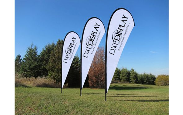 Top quality of branded Teardrop Series Flag offered at DXP-Display, Vaughan,on,Canada having 100 % satisfaction promise. We feature number of Advertising flags, Teardrop flags, feather flags, Banner flags for sale your minute significant occasions.