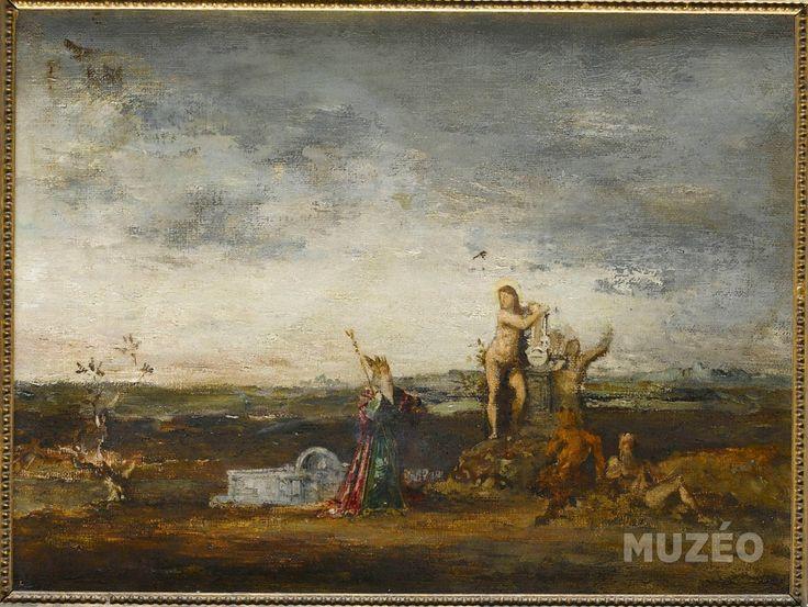 Le Roi Midas de Moreau Gustave - Reproduction d'art haut de gamme