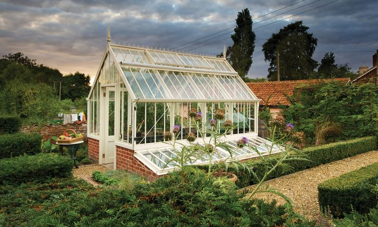 Scotney National Trust greenhouse