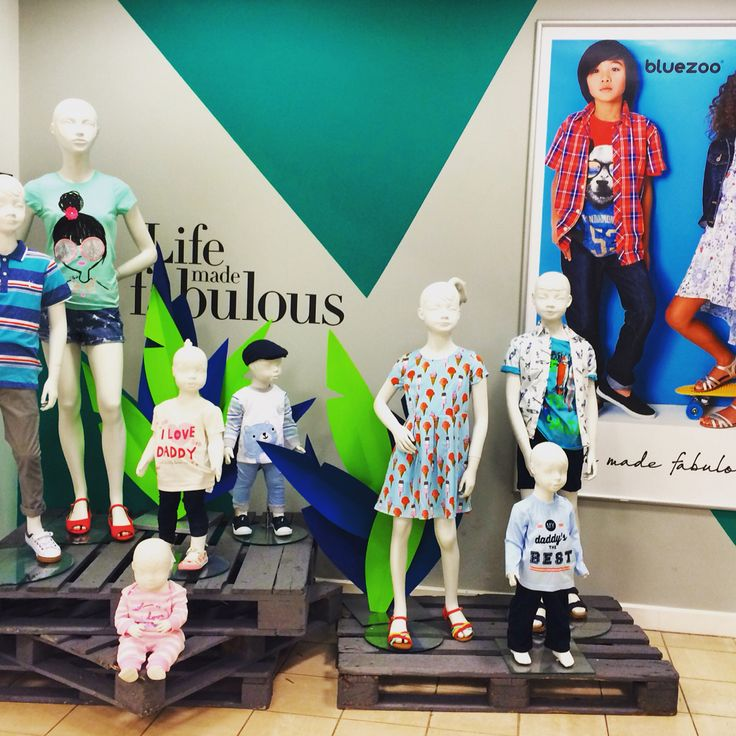 Children's fashion visual hotspot