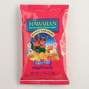 Hawaiian Mango Habanero Kettle Style Potato Chips