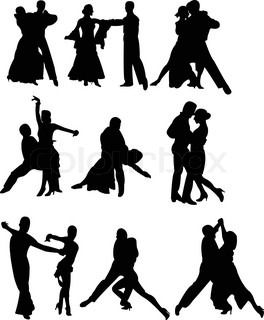 Image result for dance wedding cake silhouette