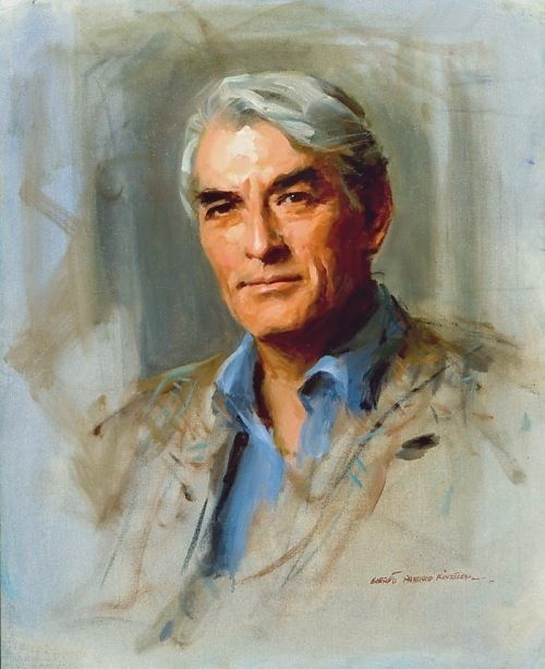 Gregory Peck, Collection of the National Portrait Gallery
