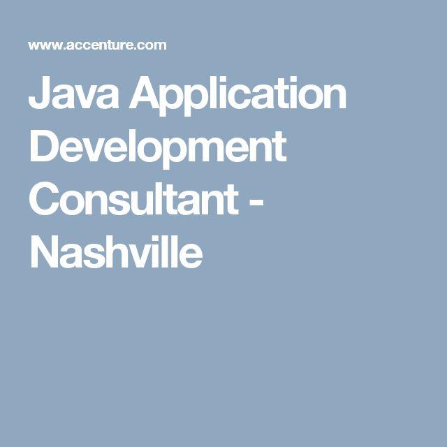 Java Application Development Consultant - Nashville