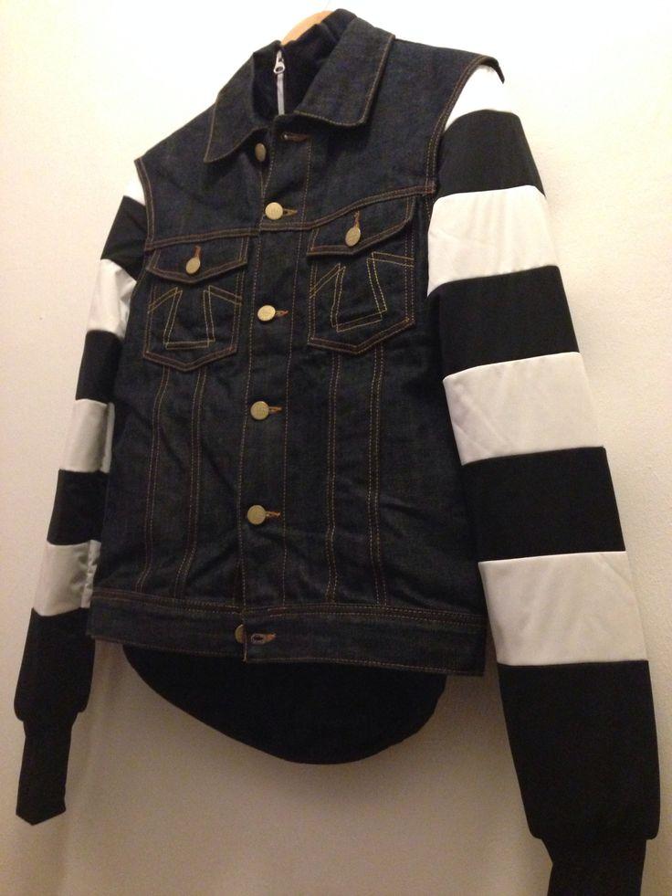Wndrz rain stop inner down jacket & Eat Dust Jeans Vest www ...