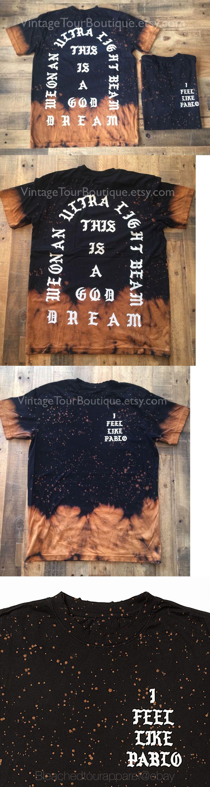 Black keys t shirt etsy - T Shirts 175781 I Feel Like Pablo Bleached Tee Kanye West Yeezy Yeezus Tlop