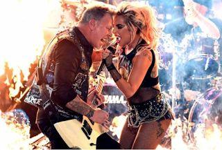Αuto  Planet Stars: Νεύρα και κλωτσιές στο ντουέτο Metallica – Lady Ga...