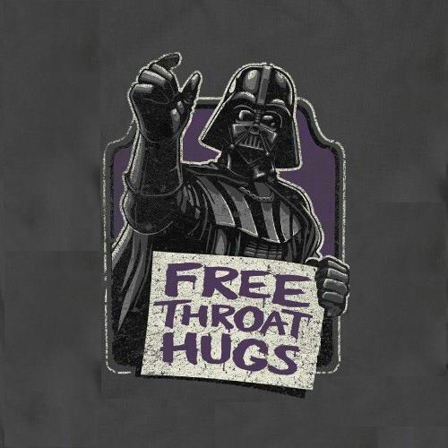 #FREE Throat #hugs #starwars #humor