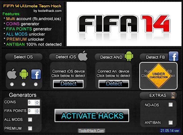 Fifa 14 Ultimate Team Hack Telecharger Gratuit 21.05.2014 Updated