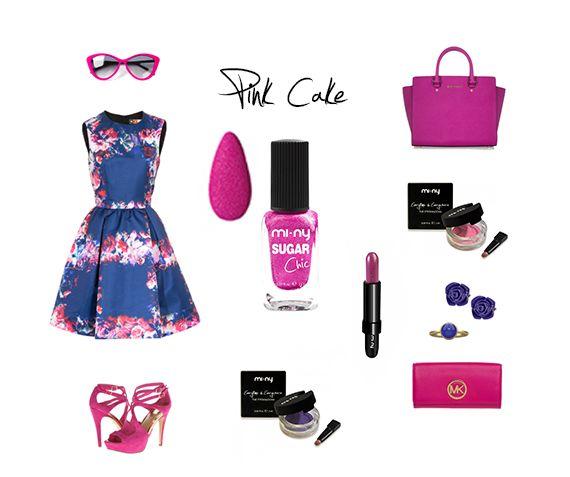 PINK CAKE Un tocco di rosa acceso per un Look extra Glam! Be Fashion with MI-NY!  SHOP ONLINE: http://www.minyshop.com/it/sugar-chic/334-pink-cake.html   #miny #nailpolish #smalto #nails #glamour #fashion #madeinitaly #noanimaltesting