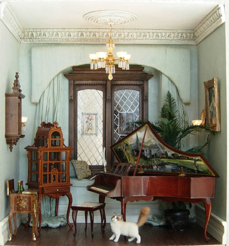 Top 25 Ideas About MINIATURE ROOM BOXES On Pinterest
