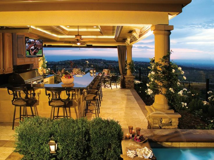 Outdoor Cooking Spaces Part - 34: Creating An Outdoor Cooking And Entertaining Space Doesnu0027t Require A Lot Of  Space Or