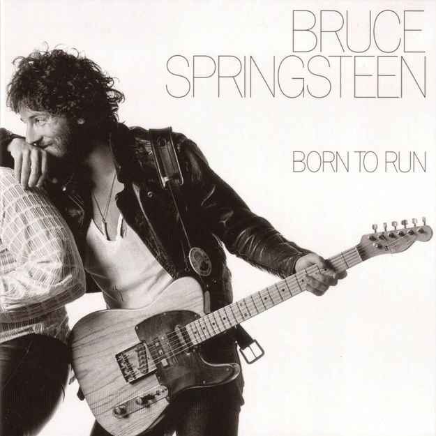 Born to Run by Bruce Springsteen (1975) | Community Post: 42 Classic Black And White Album Covers