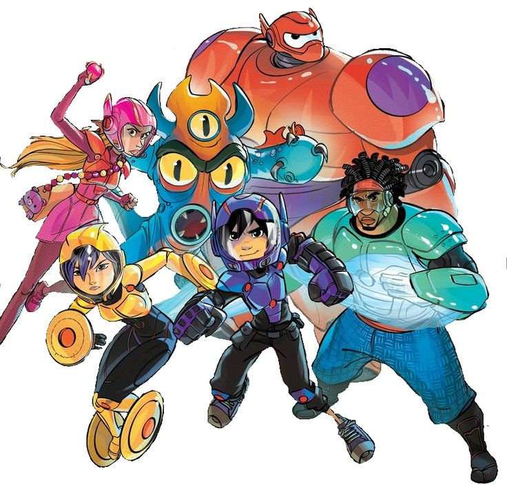 Big Hero 6 (team) - DisneyWiki