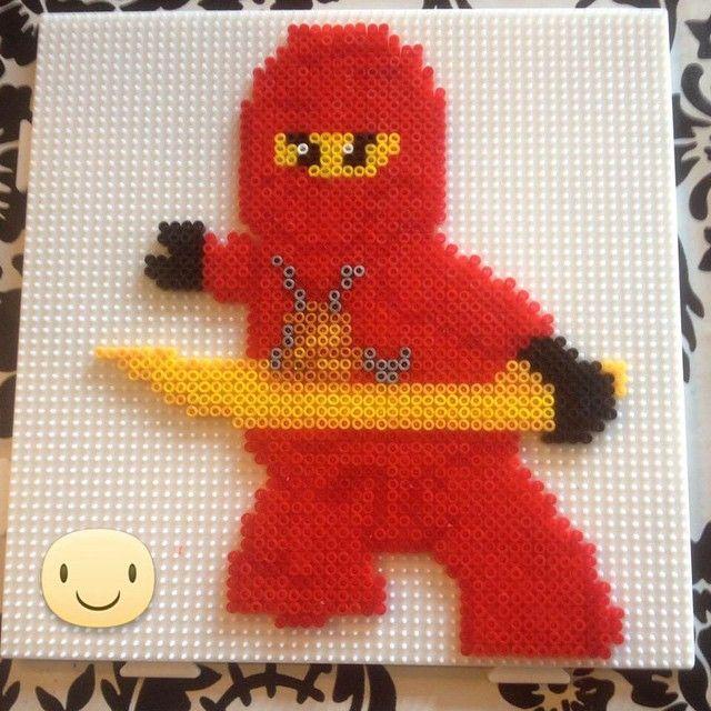Lego Ninja hama beads by sckaziepigen