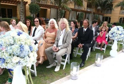 Phil Collen's wedding