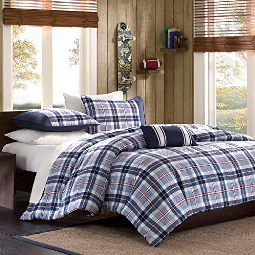 this is a nice blue striped comforter for a teen boys 14405 | d9c7a65b3f6040840c3426f674136cc5