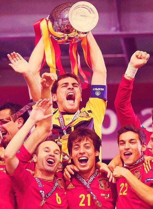 España Campeones Euro 2012