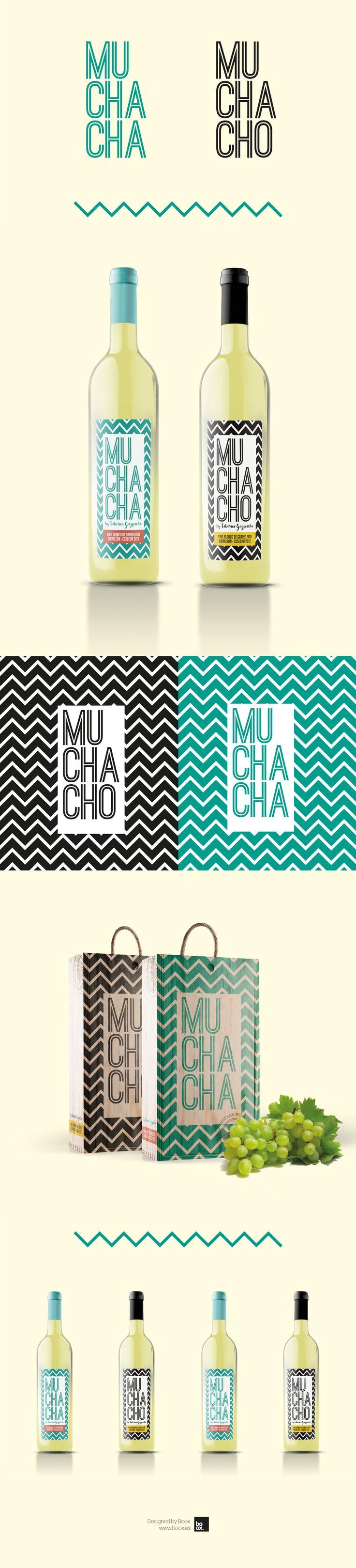 Diseño de branding, packaging e identidad corporativa para Muchacho, Vinos blancos de Huelva