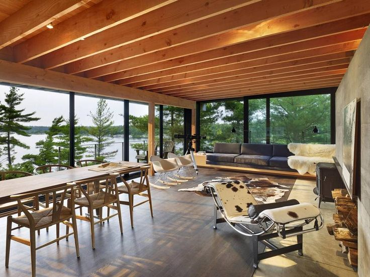 At this Ontario cottage, you are in an architect's hands, but nature is in charge - The Globe and Mail
