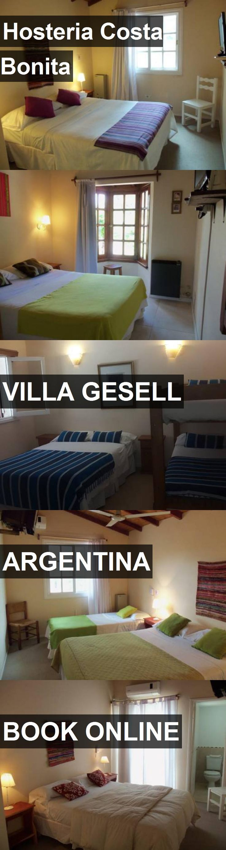 Hotel Hosteria Costa Bonita in Villa Gesell, Argentina. For more information, photos, reviews and best prices please follow the link. #Argentina #VillaGesell #travel #vacation #hotel