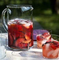 Barefoot Contessa - Recipes - Summer Rosé Sangria - MasterCook