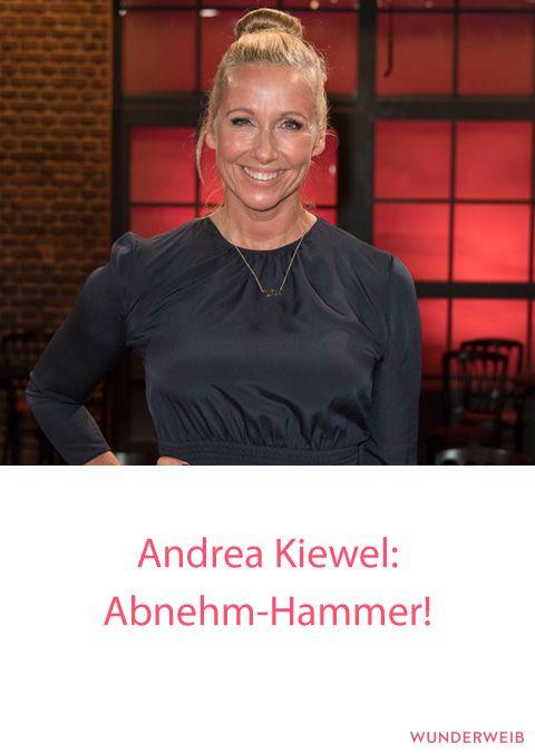 Fernsehgarten-Moderatorin Andrea Kiewel ist deutlich schlanker geworden! #abnehmen #diät #figur