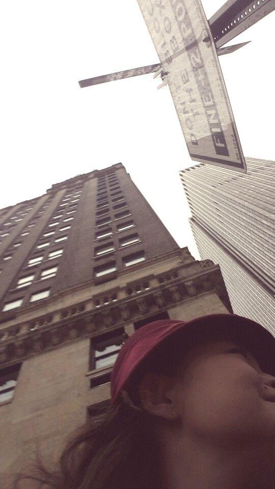 Streets of New York City...