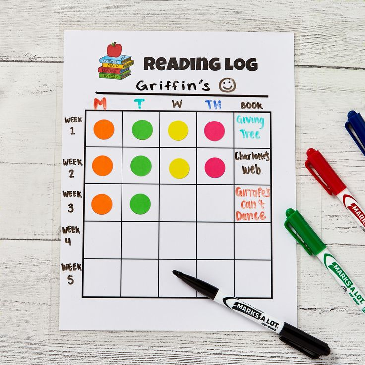 DIY Reading Log for Kids + Free Template Designs in 2020