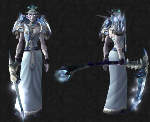 Cloth / Priest only Head: [Heroes' Crown of Faith] Shoulder: [Valorous Shoulderpads of Sanctification] Chest:…