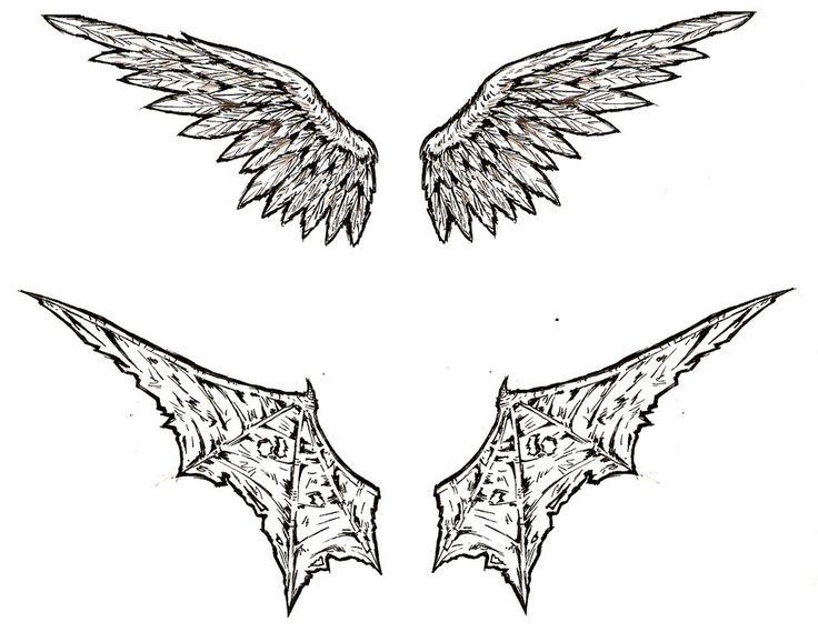 demon wing tattoo designs - Google Search