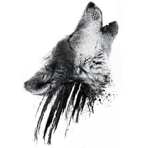 Wolf Tattoo- This is exactly what I want!