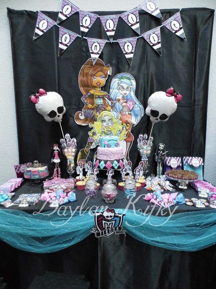 Fiesta Temática Monster High