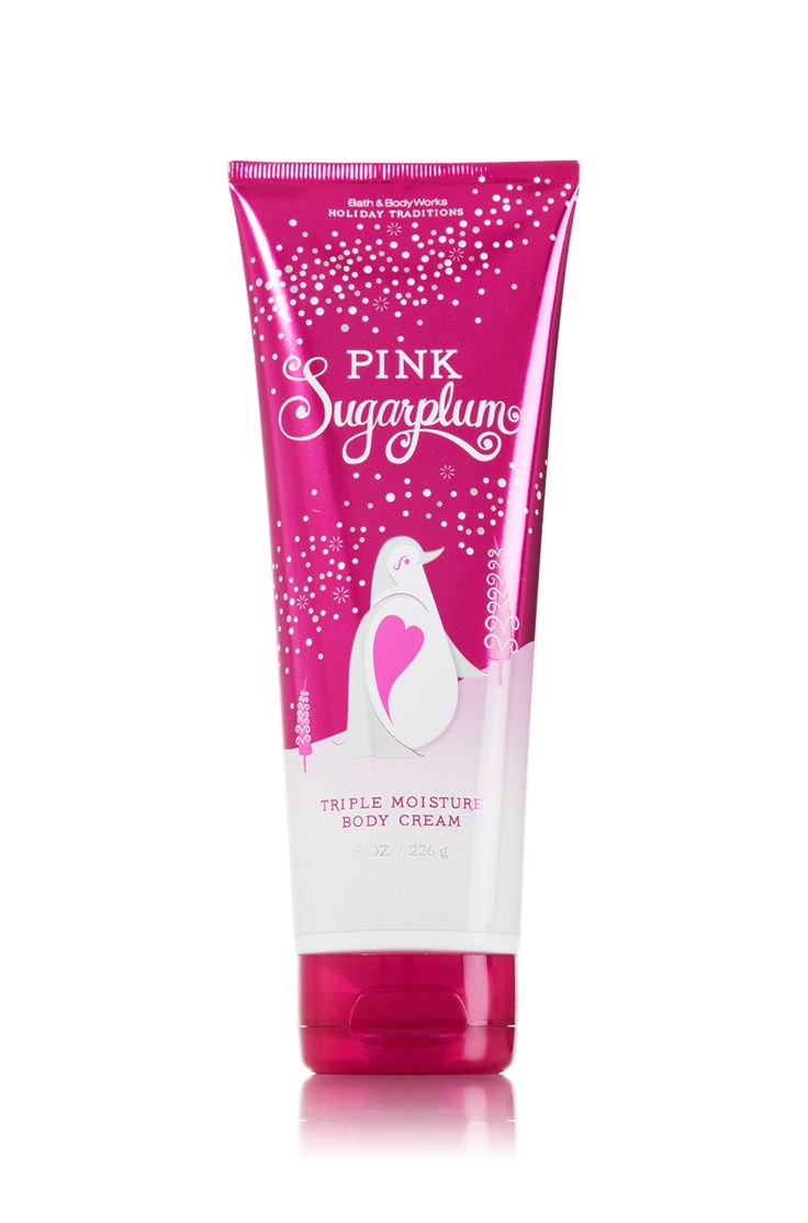 Pink Sugarplum Triple Moisture Body Cream - Signature Collection - Bath & Body Works