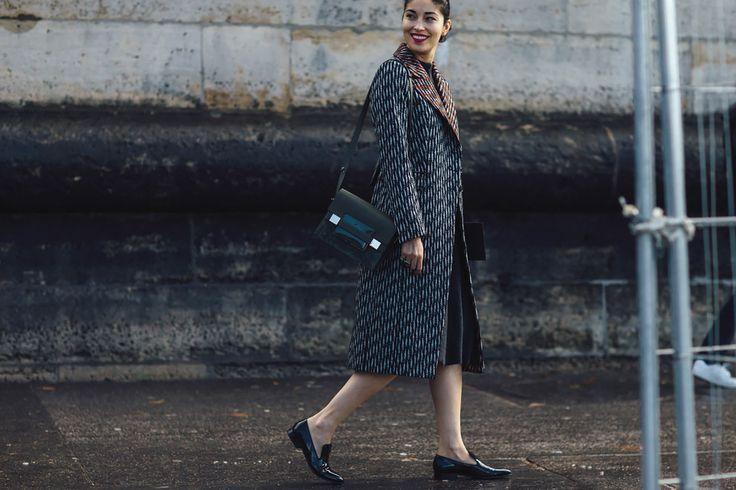 Streetstyle на Неделе моды в Париже. Часть 4   Мода   VOGUE
