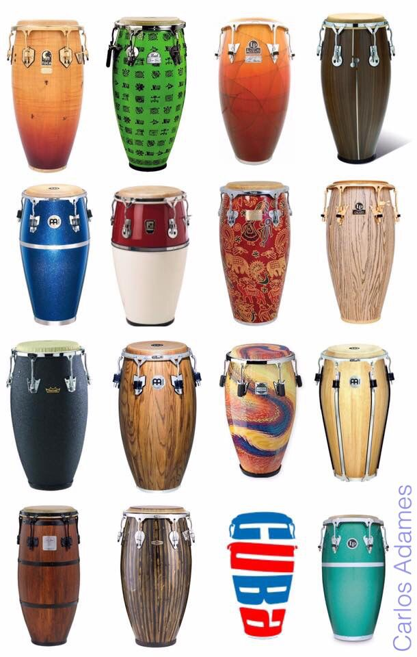"Percussion instrument ""Congas - Tumbadoras""."