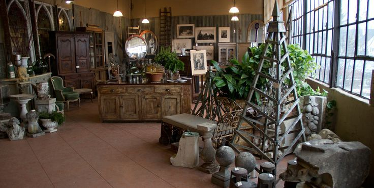 antiques and architectural salvage available at Uniquities in Calgary