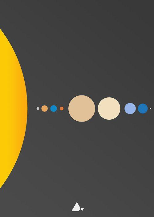 Illustration art print Graphic planet graphic design