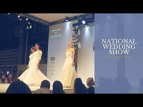 National Wedding Show NEC Birmingham 2015 {Emily Jayne} - YouTube