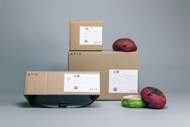 Industrial Burger Delivery Boxes - The Delivery Boxes for A-100 Burgers Feature an Unexpected Design (GALLERY)