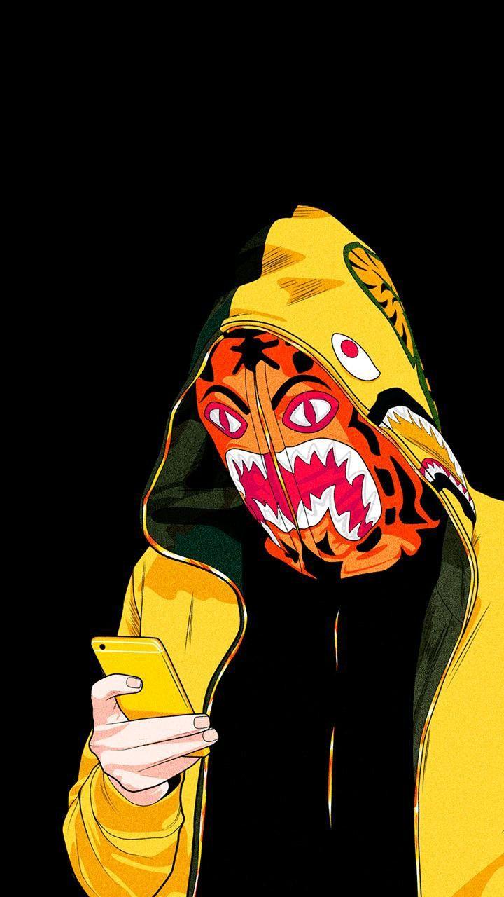 Pin By Phil Rampulla On Anime Hip Hop Bape Shark Wallpaper Bape Wallpapers Bape Art