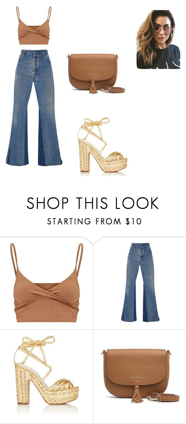 """""""a casting for a show"""" by alexa78-1 on Polyvore featuring RE/DONE, Alchimia Di Ballin, Tommy Hilfiger and MINKPINK"""