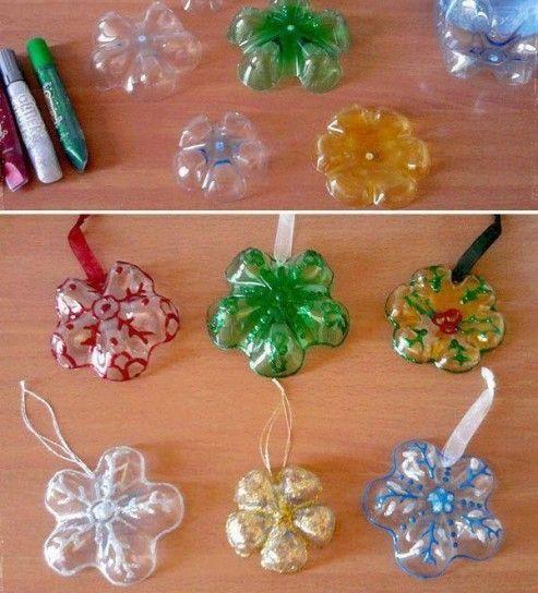 decorazioni natalizie cucchiai di plastica - Cerca con Google