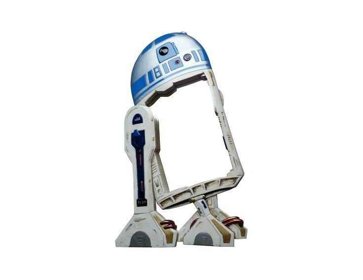 Bathroom Ready R2-D2 mirror...