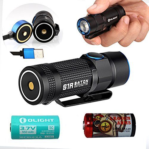 Olight S1R Baton S1 rechargeable 900 Lumen LED Flashlight... https://www.amazon.com/dp/B01LE5XZNS/ref=cm_sw_r_pi_dp_x_xhmfAbQN1X9VE